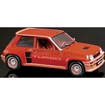 Renault 5 Turbo (Red) - Universal Hobbies Cars - 1:18 scale  (Universal Hobbies 4520)