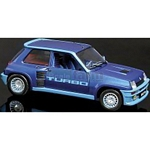 Renault 5 Turbo (Metallic Blue) - Universal Hobbies Cars - 1:18 scale  (Universal Hobbies 4521)