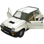 Renault 5 Turbo 2 (Pearl White) - Universal Hobbies Cars - 1:18 scale  (Universal Hobbies 4525)