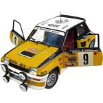Renault 5 Turbo No.9 - 1981 Rally Monte Carlo Winner - Universal Hobbies Cars - 1:18 scale  (Universal Hobbies 4530)