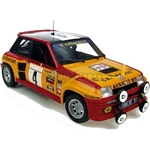 Renault 5 Turbo No.4 - 1980 Tour de France - Universal Hobbies Cars - 1:18 scale  (Universal Hobbies 4533)