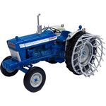 Ford 5000 Tractor with Cage Wheels
