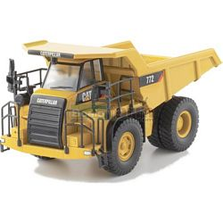 CAT 772 Off Highway Truck - Norscot Die Cast Models - 1:50 Scale (Norscot 55147)