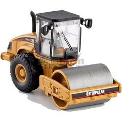 CAT CS-563E Smooth Drum Compactor - Norscot Die Cast Models - 1:87 Scale (Norscot 55155)