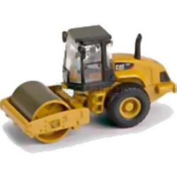 CAT CS56 Smooth Drum Vibratory Soil Compactor - Norscot Die Cast Models - 1:87 Scale (Norscot 55246)
