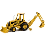 CAT 416 Backhoe Loader - Norscot Die Cast Models - 1:32 Scale  (Norscot 55271)