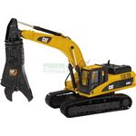 CAT 323D Hydraulic Excavator with Scrap Shear