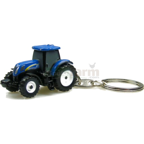 New Holland T6090 Tractor Keyring (Universal Hobbies 5577)
