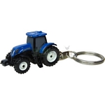New Holland T7.210 Tractor Keyring - Universal Hobbies Agricultural Keyrings  (Universal Hobbies 5584)
