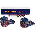 Rawlings Transport Collectors Edition Set plus Keyring - Universal Hobbies Commercial - 1:50 scale  (Universal Hobbies 5636)