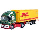 Iveco Stralis 'David Haig' with DHL Container - Universal Hobbies Commercial - 1:50 scale  (Universal Hobbies 5640)