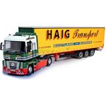 Renault Magnum - 'David Haig' plus Trailer Keyring - Universal Hobbies Commercial - 1:50 scale  (Universal Hobbies 5641)