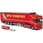 Scania R Series - Boyle Transport plus Trailer Keyring - Universal Hobbies Commercial - 1:50 scale  (Universal Hobbies 5644)