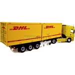 Scania R580 and Krone Box Liner with DHL Markings - Universal Hobbies Commercial - 1:50 scale  (Universal Hobbies 5665)