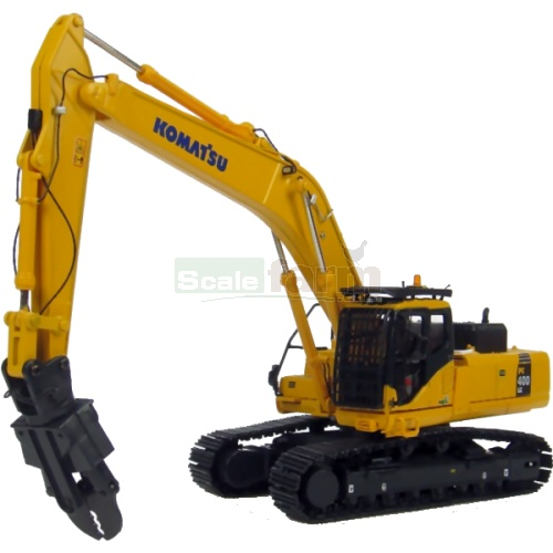 Komatsu PC400 LC Excavator with Short Demolition Arm (Universal Hobbies 8084)