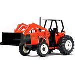 Allis-Chalmers 6060 4WD Tractor With Loader - SpecCast Collectables - 1:16 Scale  (SpecCast SP266)