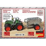 Fendt 313 Vario Tractor and Trailer Construction Kit