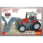 Massey Ferguson 8690 Tractor with Frontloader Construction Kit - Tronico DIY Metal Kits - 1:16 Scale  (Tronico 10081)