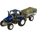 New Holland T5.115 Tractor with Trailer Construction Kit (Tronico 9560)