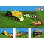 Farm Playset with Tractor, Trailer, Fencing and Cows