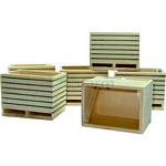 Wooden Boxes (6 pack)