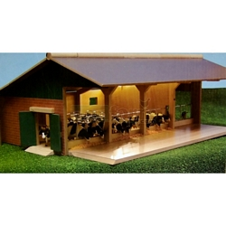 Open Front Stable - Kids Globe - 1:32 scale (Kids Globe 610635)
