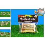 Wooden Fence & Gate Set (6 pack) - Kids Globe - 1:32 scale  (Kids Globe 610667)