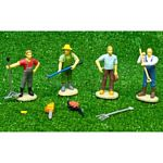 Farm Figure Set with Farm & Forestry Accessories - Kids Globe - 1:32 scale  (Kids Globe 571931)