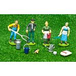 Farm Figure Set with Milking Accessories - Kids Globe - 1:32 scale  (Kids Globe 571931)