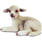 Lamb, lying - Schleich World of Nature - Farm Life  (Schleich 13284)