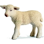 Lamb, standing - Schleich World of Nature - Farm Life  (Schleich 13285)