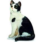 Cat, sitting - Schleich World of Nature - Farm Life  (Schleich 13637)