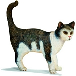 Cat, standing - Schleich World of Nature - Farm Life  (Schleich 13638)