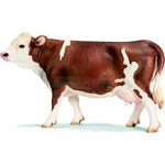 Simmental Cow - Schleich World of Nature - Farm Life  (Schleich 13641)