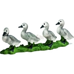 Mute Swan Cygnets - Schleich World of Nature - Farm Life  (Schleich 13657)