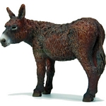 Poitou Donkey - Schleich World of Nature - Farm Life  (Schleich 13661)