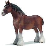 Clydesdale Gelding - Schleich World of Nature - Farm Life  (Schleich 13670)