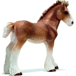 Clydesdale Foal - Schleich World of Nature - Farm Life  (Schleich 13671)