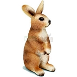 Rabbit, standing - Schleich World of Nature - Farm Life  (Schleich 13672)