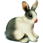 Rabbit, sitting - Schleich World of Nature - Farm Life  (Schleich 13673)