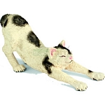 Male Cat, stretching - Schleich World of Nature - Farm Life  (Schleich 13677)