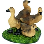 Grey Goose Chick - Schleich World of Nature - Farm Life  (Schleich 13680)