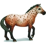 Knabstrupper Stallion - Schleich World of Nature - Farm Life  (Schleich 13689)