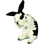 Rabbit, grooming - Schleich World of Nature - Farm Life  (Schleich 13698)