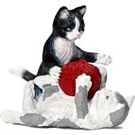 Kittens with Ball of Yarn - Schleich World of Nature - Small Pets  (Schleich 13724)