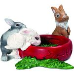 Baby Rabbits - Schleich World of Nature - Small Pets  (Schleich 13725)
