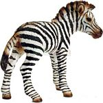Zebra Foal - Schleich World of Nature - Wild Life  (Schleich 14393)