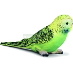 Budgie, Green - Schleich World of Nature - Small Pets  (Schleich 14408)