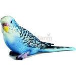 Budgie, Blue - Schleich World of Nature - Small Pets  (Schleich 14409)