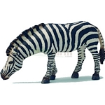 Zebra, Grazing - Schleich World of Nature - Wild Life  (Schleich 14609)